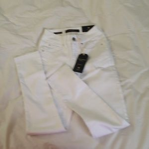 NWT The Limited stretch white skinny jeans OP